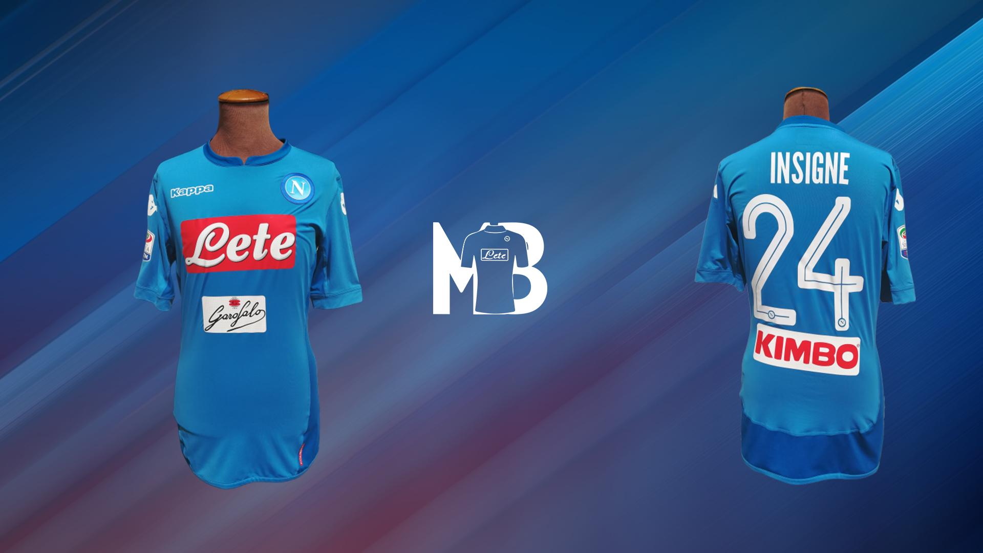 2017-2018 | Le mie maglie del Napoli